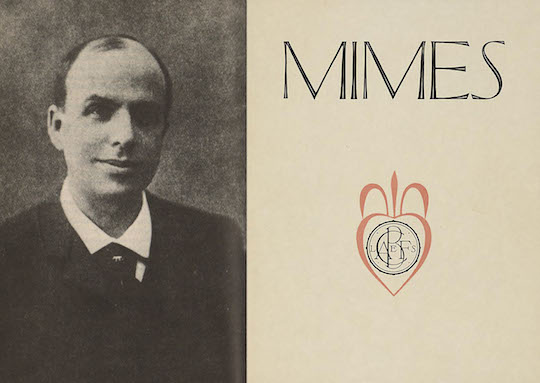 Marcel Schwobs Mimes Prologue Mime I Asymptote Blog