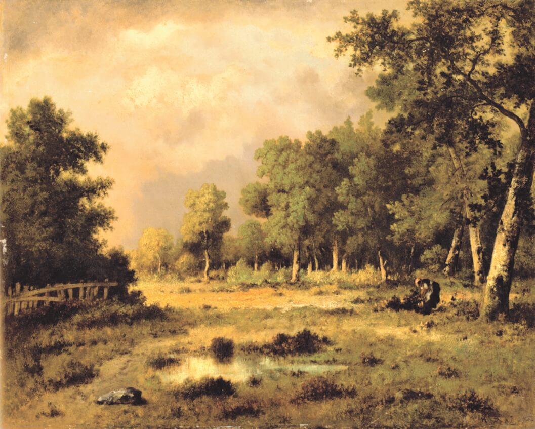 Narcisse Diaz de la Peña, The Forest Clearing, 1875. Photo: Private Collection.