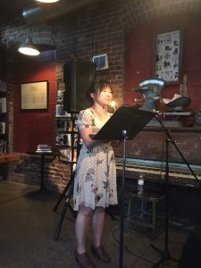 "Esther Lee reads from her poem series ""Labanotation."""