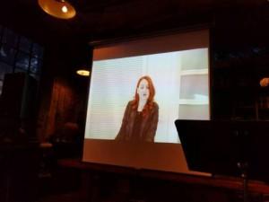 """Naida Avdović presents an excerpt from her short story """"Registracija/Registration."""""""