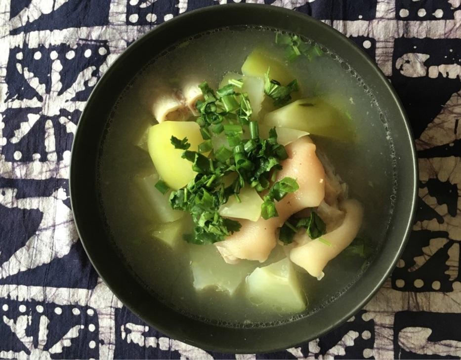 [Vietnamese] Papaya Soup