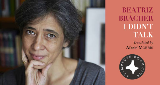 Announcing Our July Book Club Selection I Didnt Talk By Beatriz
