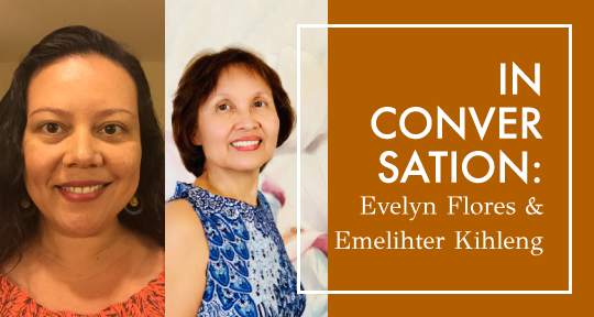 "A Rebirth Moment"": Evelyn Flores and Emelihter Kihleng on"