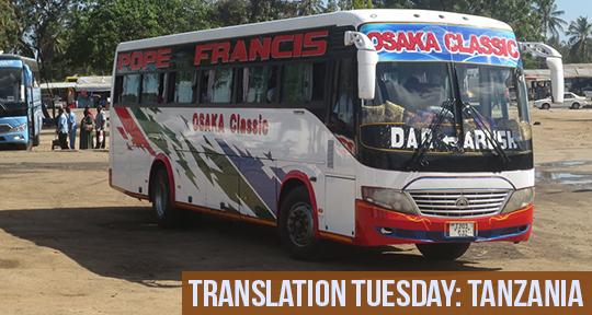 "Translation Tuesday: ""Comfort Is Expensive"" by Mlenge Mgendi"