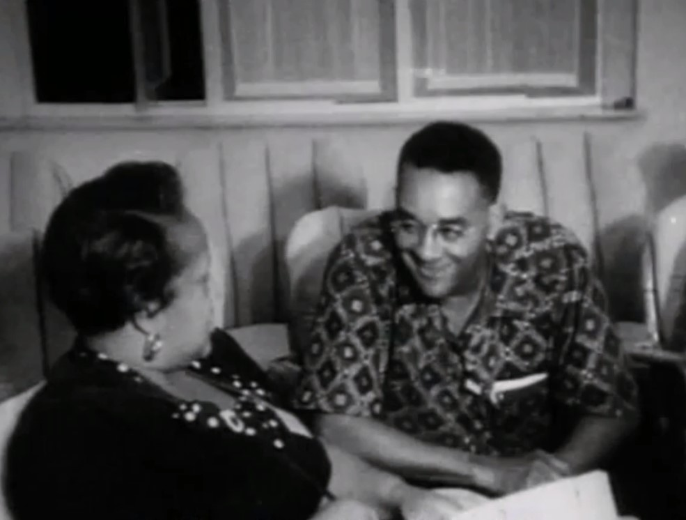 recovering and back translating richard wright s lost asian  wright wearing a traditional n batik shirt at the bandung conference seated fellow african american reporter ethel payne